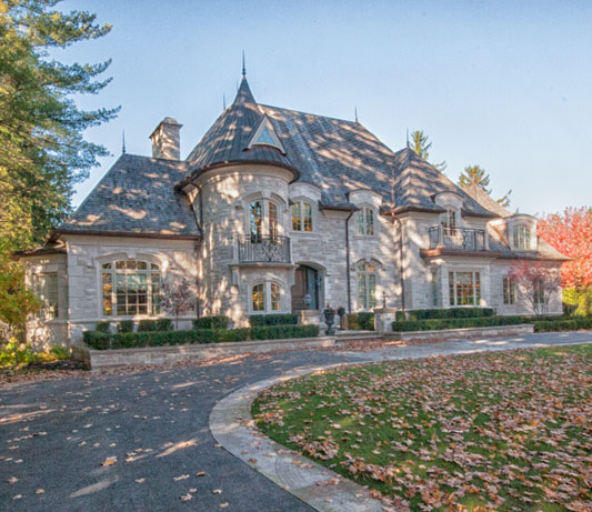Custome Stone & Brick Home completed by Allstone