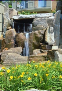 Granite Slabs Water Fall