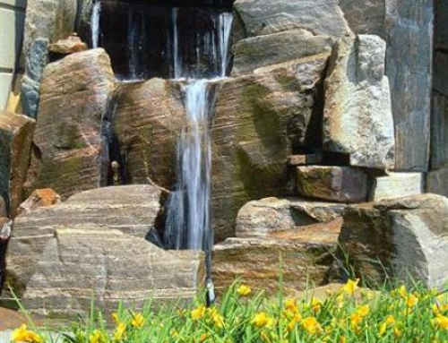 Muskoks Peach Granite – Slabs Water Fall
