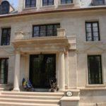 Allstone custom cut limestone on a residential property