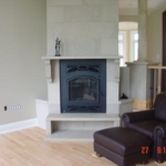 Indiana Limestone Fireplace