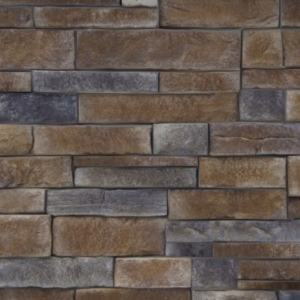 Sample of StoneRox Dry Stack in the colour Driftwood