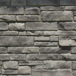 Sample of StoneRox Dry Stack in the colour Loyalist Grey