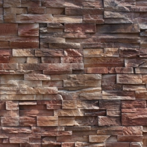 Sample of StoneRox Precision Ledge in the colour Bronte Bark