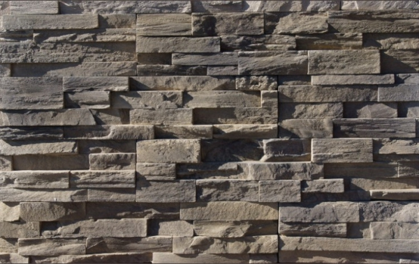 Sample of StoneRox Precision Ledge in the colour Meaford Mist